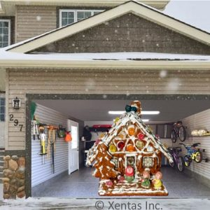 alt=garage-door-decor-gingerbread-house