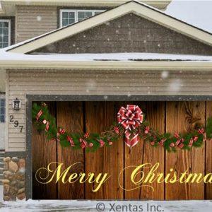 alt=garage-door-decor-garland