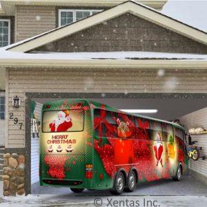 alt=garage-door-decor-santa-bus