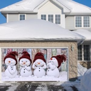 alt=garage-door-decor-snowmen-group