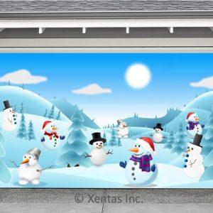 alt=garage-door-decor-snowmen