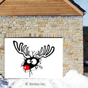 alt=garage-door-decor-rudolph