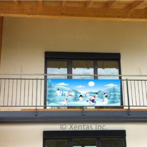 alt=balcony-banner-snowmen