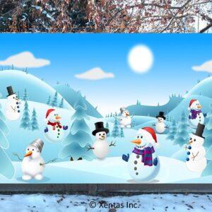 alt=fence-banner-snowmen