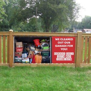 alt=fence-banner-garage-sale