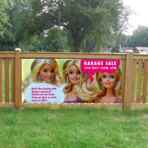 alt=fence-banner-garage-sale-barbie