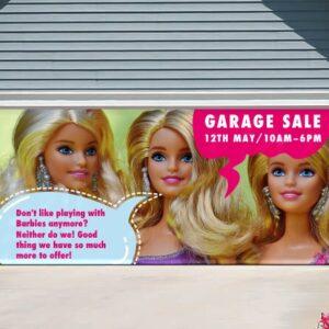 alt=garage-door-banner-garage-sale-barbie